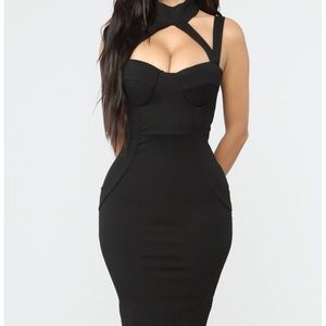 Evil Queen Black Dress